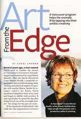 Artfrom the Edge - Readers Digest Dec 2009